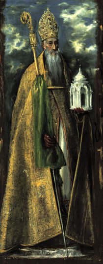 El Greco, Hl.Augustinus by AKG  Images
