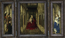 Jan van Eyck, Fluegelaltar 1437 by AKG  Images