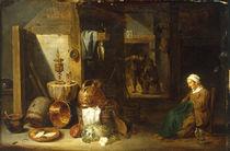 D.Teniers d.J., Kuecheninterieur by AKG  Images