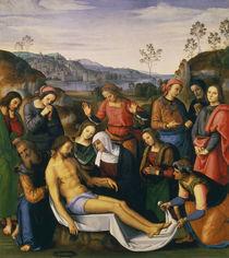 Perugino, Beweinung Christi von AKG  Images