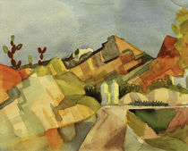 A.Macke, Felsige Landschaft by AKG  Images