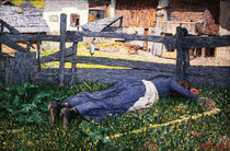 G.Segantini, Schlaf im Schatten by AKG  Images