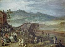Jan Brueghel d.Ae., Bruecke zu Talavera by AKG  Images