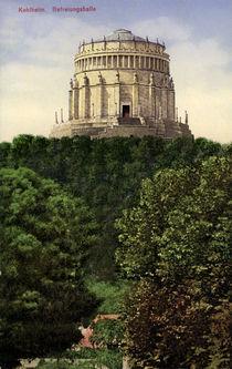 Kelheim, Befreiunghalle / Postkarte 1913 by AKG  Images