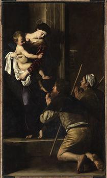 Caravaggio, Madonna di Loreto by AKG  Images