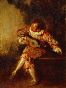 Watteau, Der Serenadenspieler von AKG  Images