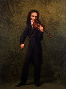 Paganini/Ganzportr.mit Geige/Kersting by AKG  Images