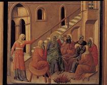 Duccio,  Petri Verleugnung von AKG  Images