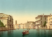 Venedig, Kanal / Photochrom by AKG  Images