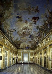 Florenz, Palazzo Medici, Galleria Ricc. von AKG  Images