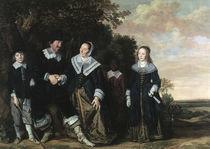 F.Hals, Familienbildnis by AKG  Images