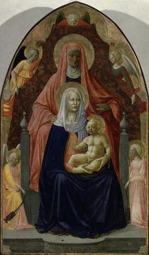 Masaccio u.Masolino, Anna selbdritt by AKG  Images
