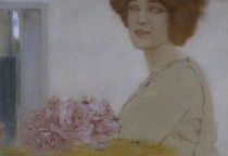 Fernand Khnopff, Rosen by AKG  Images