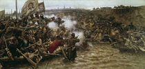 Eroberung Sibiriens 1582 / Surikow von AKG  Images
