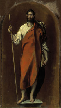 El Greco, Hl.Jacobus d.Ae. by AKG  Images