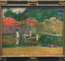P. Gauguin, Frauen mit weissem Pferd von AKG  Images
