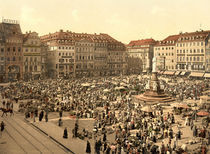 Dresden, Altmarkt / Photochrom by AKG  Images