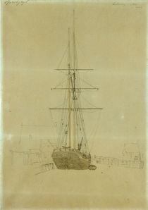 Friedrich/Studie eines Zweimasters/1815 by AKG  Images