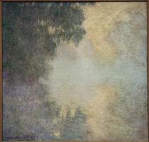 Claude Monet, Vormittag auf der Seine by AKG  Images