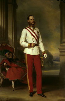 Kaiser Franz Joseph / Winterhalter von AKG  Images