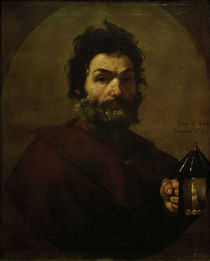 Diogenes mit Laterne / Ribera 1637 by AKG  Images