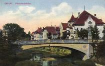 Erfurt, Pfoertchenbruecke / Postkarte by AKG  Images