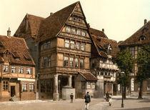 Hildesheim, Andreasplatz, Pfeilerhaus von AKG  Images