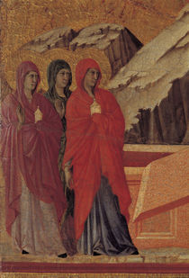 Duccio, Drei Marien am Grabe by AKG  Images