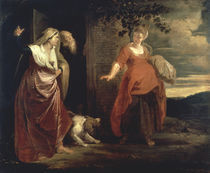 P.P.Rubens, Weggang der Hagar by AKG  Images