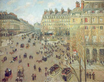 C.Pissarro, Place du Theatre Francais by AKG  Images