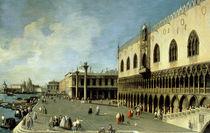Venedig, Dogenpalast / Gem.v.Canaletto von AKG  Images