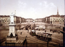Turin/Piazza Vittorio Emanuele/Photochr. by AKG  Images