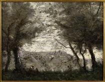 C.Corot, Teich von Ville d'Avray by AKG  Images