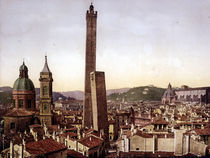 Bologna, Stadtzentrum u.Torre Asinelli by AKG  Images