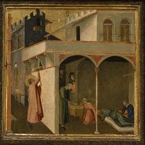 A.Lorenzetti, Nikolaus wirft Goldkugeln by AKG  Images