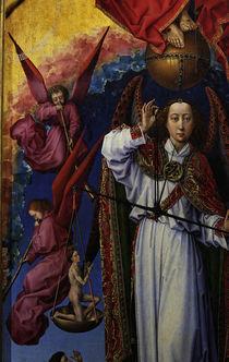 R. van der Weyden, Erzengel Michael by AKG  Images