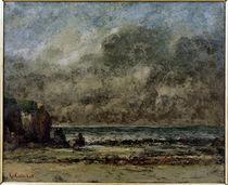 G.Courbet, Seelandschaft. Die Ruhe by AKG  Images