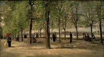 Van Gogh, Promenade im Jardin du Luxemb. by AKG  Images