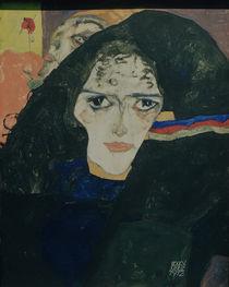 E.Schiele, Trauernde Frau von AKG  Images