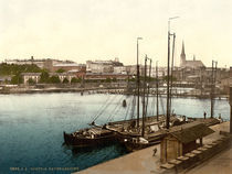 Stettin, Hafen / Photochrom by AKG  Images