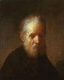 Rembrandt/Brustbild eines alten Mannes von AKG  Images