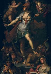 B.Spranger, Minerva als Siegerin... von AKG  Images