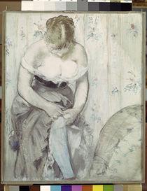Manet/Die Frau mit dem Strumpfband/1878 von AKG  Images