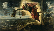 Tintoretto, Erschaffung der Tiere by AKG  Images
