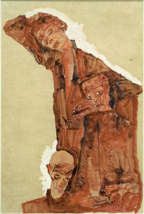 Egon Schiele, Dreifache Selbstdarstell. von AKG  Images