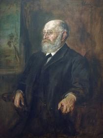 Theodor Gomperz / Gemaelde von Lenbach by AKG  Images