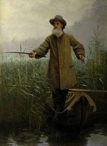 Apollon N.Maikow / Gem.v.Kramskoi von AKG  Images