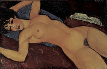 A.Modigliani, Roter Frauenakt by AKG  Images