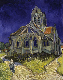 Van Gogh/ Kirche in Auvers sur Oise/1890 by AKG  Images
