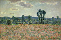 C.Monet, Feld mit Mohnblumen von AKG  Images